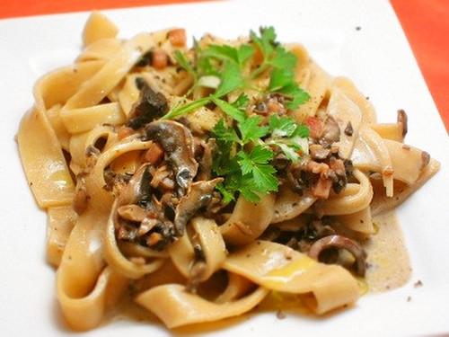 Homemade Pasta with Creamy Mushroom Sauce Washoku.Guide