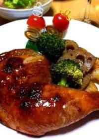 Holiday Roast Chicken With Rich Sauce