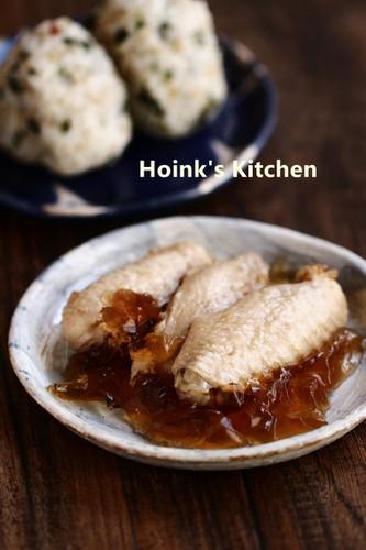 Stewed Chicken Wings with Black Vinegar