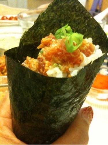 Marc's Spicy Tuna (Sushi Hand Rolls)