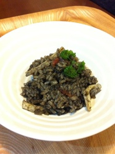 Easy Homemade Squid Ink Risotto