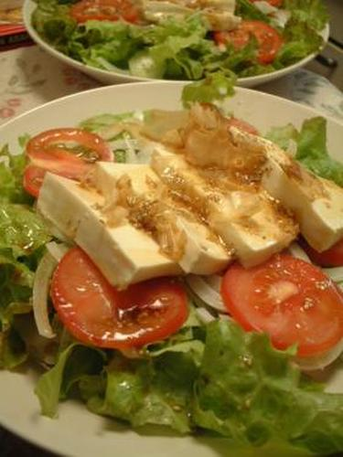 Cool Tofu Salad for the Summer