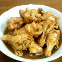 Delicious Simmered Tender Chicken Drumettes