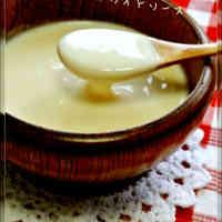 Hot Milk Béchamel Sauce with Mochi Cakes