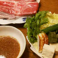 Shabu-Shabu with Sesame Dipping Sauce