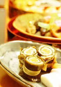 Pork Kombu Maki Rolls for the New Year's Feast