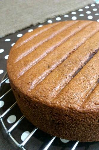 Foolproof Fluffy Cocoa Sponge Cake