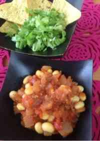 Easy Tofu Chili Beans