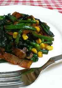 Butter-Sautéed Spinach with Caramelized Soy Sauce