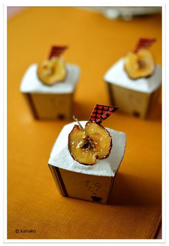 Caramel Apple & Buckwheat Flour Muffins