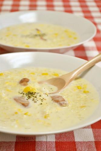 Nutritious Milk Rice Porridge in 10 Minutes