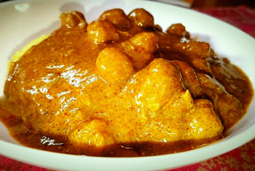 Nepalese Curry with Chickpeas and Chicken