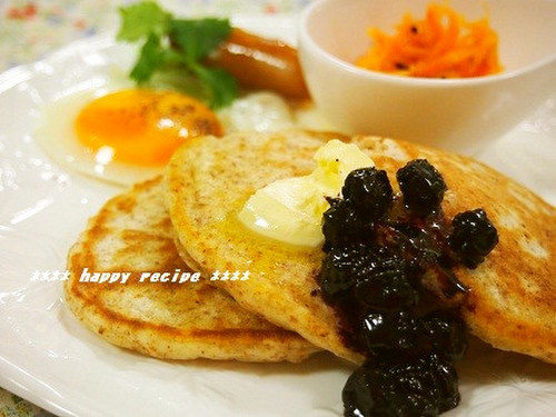 Breakfast Crumpets with Roasted Wheat Germ