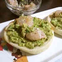 English Muffin Avocado Sandwich