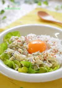 Creamy Egg on Tofu Soboro A Healthy Breakfast