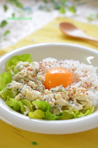 Creamy Egg on Tofu Soboro A Healthy Breakfast