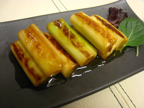 Refreshing Marinated Japanese Leeks