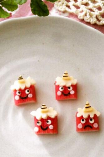 Setsubun Character Bento Crabstick Demons