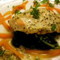 Baked Salmon with Yogurt