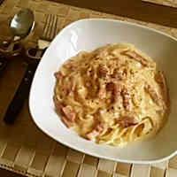 Café Style Pasta Carbonara