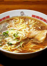 Light Soy Sauce Ramen Soup