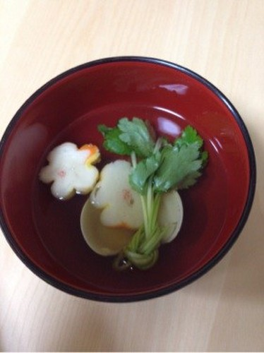 Clear Clam Soup