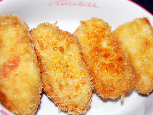 Easy Imitation Crabmeat Cream Croquettes