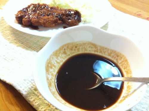 Easy! Tonkatsu Sauce☆