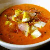 Rich Spanish Salmorejo Tomato Soup