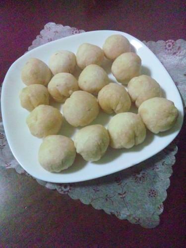 Easy in the Microwave Chewy Okara Dumplings