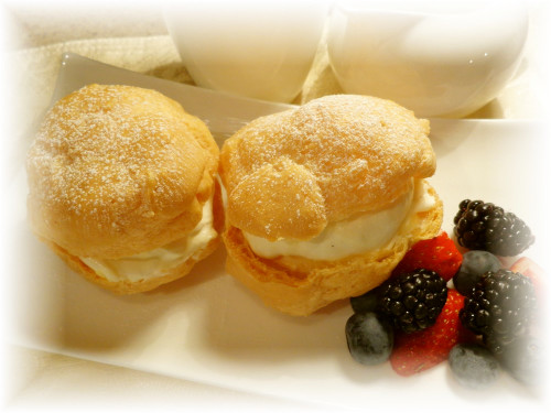 Crispy Cream Puffs - Use up Whole Eggs!