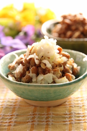 Natto with Miso and Mayonnaise