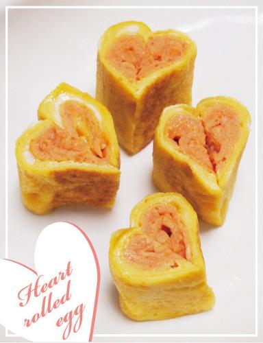 Easy & Cute Heart Tamagoyaki
