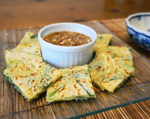 Chinese Chive Rice Flour Chijimi