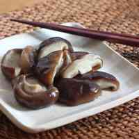 Salted and Sweetened Shiitake Mushrooms