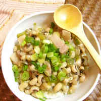 Easy Black Eyed Peas with Rice
