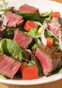 Beef Steak Salad