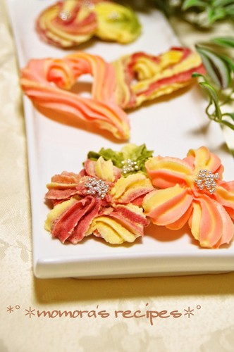 Easy Spritz Cookies, Gorgeous Flowers & Hearts