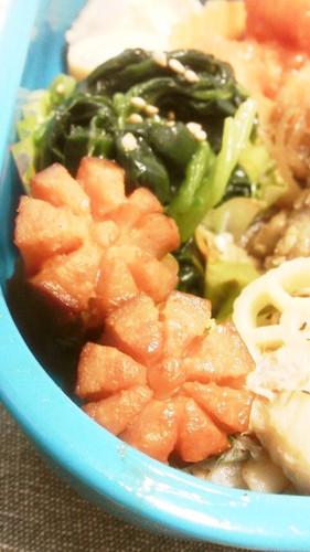 Charaben Easy Wiener Sausage Flower Garnish
