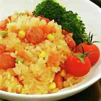 Easy Ketchup Rice for Bento and Omurice