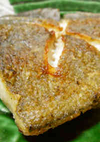 Deep-fried Flounder Fish Made in a Frying Pan