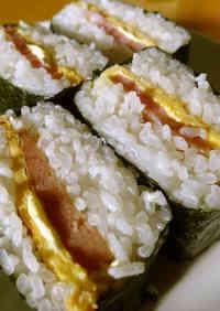My Okinawan Grandma's Recipe: Pork & Egg Onigiri (Rice Balls)