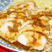 Ginger Sauce Chicken in the Microwave