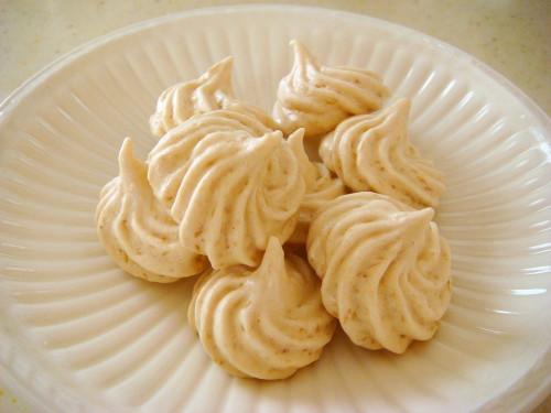 Crusty Coconut Merengue Cookies