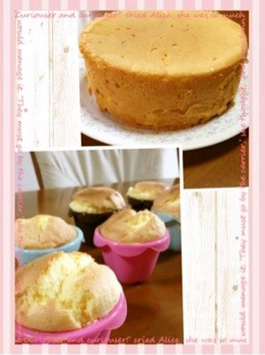 Easy Oil-Free Chiffon Cake-Style Sponge Cake