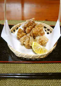 Chicken Tatsuta-age (Deep-Fried)