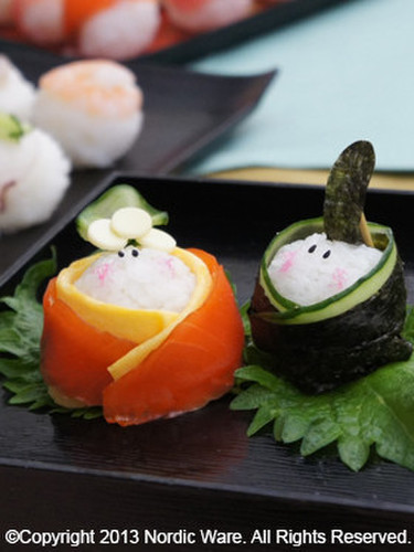 For Hinamatsuri (Doll Festival): Perfectly Round Temari Sushi #1