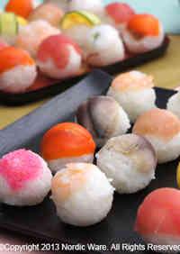 Perfectly Round Temari Sushi