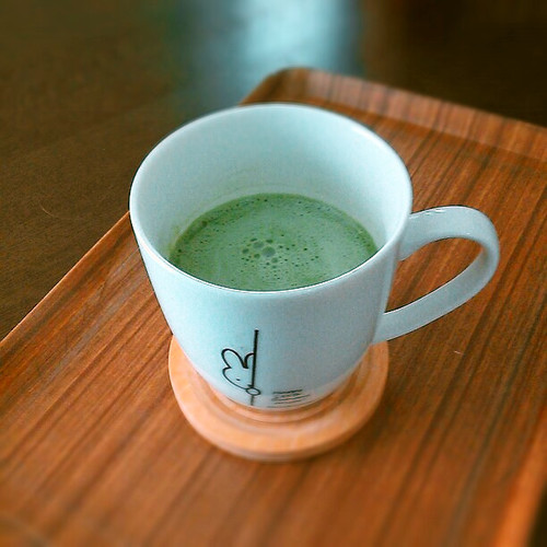 Low Calorie Matcha Latte For Dieters