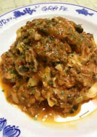Tuna Puttanesca with Fresh Tagliatelle